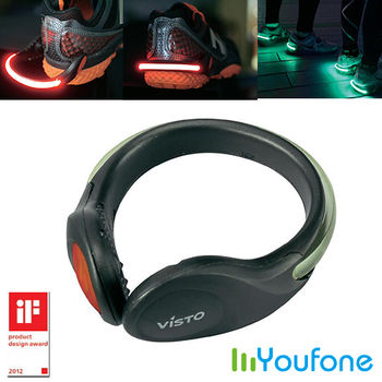 【Youfone】LED安全燈鞋環