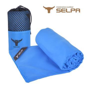 【韓國SELPA】科技吸水戶外加大款速乾浴巾