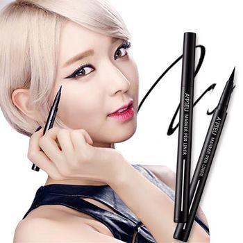 韓國 APIEU 極細超鮮明柔順馬克眼線液筆 (0.6g)