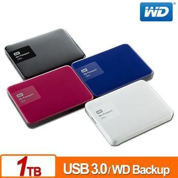 [新品上市-送硬碟保護套] WD My Passport Ultra (Mac)1TB USB3.0 2.5吋行動硬碟((黑.白.藍.紅)