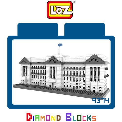 LOZ 鑽石積木-9374 【世界主題建築系列】- 白金漢宮