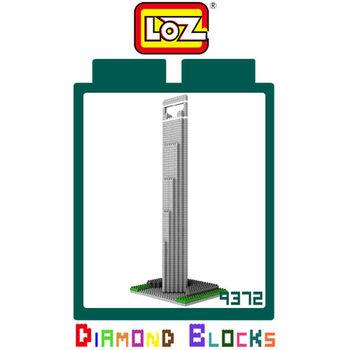 LOZ 鑽石積木-9372 【世界主題建築系列】- 上海金融中心