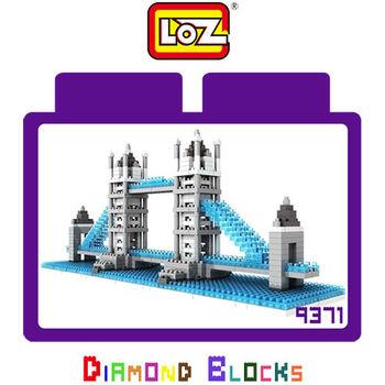 LOZ 鑽石積木-9371 【世界主題建築系列】- 倫敦橋