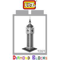 LOZ 鑽石積木 ^#45 9369 ~世界主題建築系列~ ^#45 英國倫敦大笨鐘