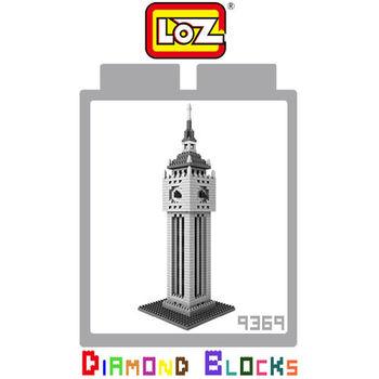 LOZ 鑽石積木-9369 【世界主題建築系列】- 英國倫敦大笨鐘