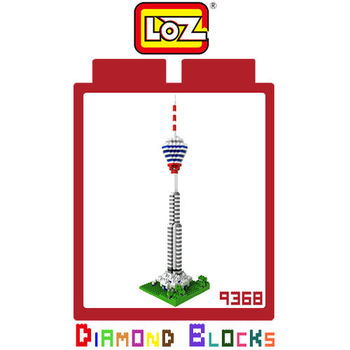 LOZ 鑽石積木-9368 【世界主題建築系列】- 吉隆坡塔