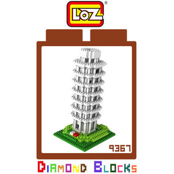 LOZ 鑽石積木-9367 【世界主題建築系列】- 比薩斜塔