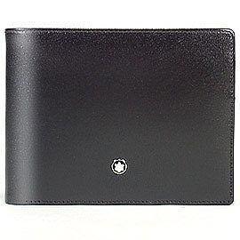 MontBlanc 萬寶龍 經典皮件系列 30618 六卡短皮夾