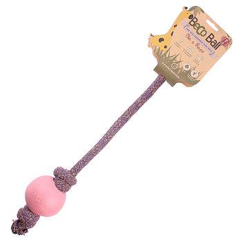 Beco Pet 馬卡龍環保繩球(L)-粉紅