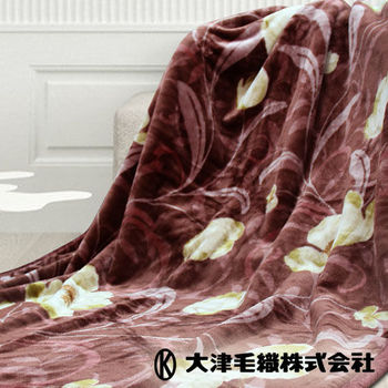 【日本大津】進口單人毛毯(25018)