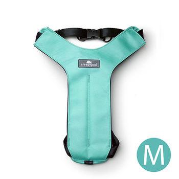 Sleepypod 寵物旅者安全胸背帶-藍綠M