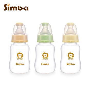 【小獅王辛巴】超輕鑽標準葫蘆玻璃小奶瓶3支組(150ml)
