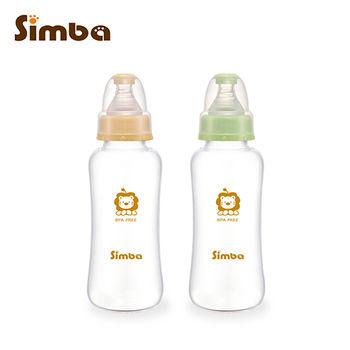 【小獅王辛巴】超輕鑽標準葫蘆玻璃大奶瓶2支組(300ml)