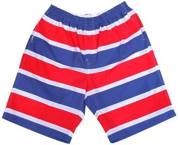 【MURANO】MIT多色系鬆緊帶印花沙灘褲 (男)   - 海邊奔跑系