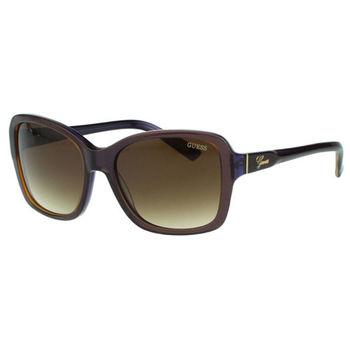 GUESS-時尚太陽眼鏡(藕色)