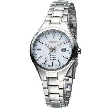 精工 SEIKO Solar 簡約【鈦】時尚腕錶 V137-0BG0S SUT199P1