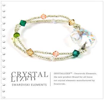 新光飾品-七彩繽紛佳人八角形水晶手鏈