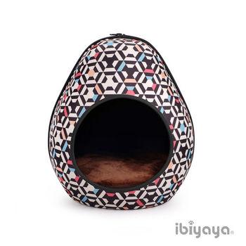 【IBIYAYA依比呀呀】摩登恐龍蛋寵物窩-幾何黑(FB1412)
