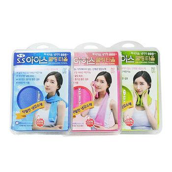 韓國進口 高品質 冷感魔術冰涼巾