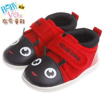 《布布童鞋》可愛動物系列紅瓢蟲寶寶嗶嗶鞋(13~14.5公分)OWP001A