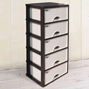 【U-SONA】現代五層收納置物櫃(35公升5層櫃)