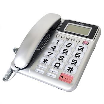 【TECO東元】XYFXC011 來電顯示有線電話