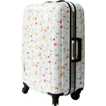 【YC Eason】名將系列璀璨鏡面鋁框PC行李箱(28吋-璀璨花)