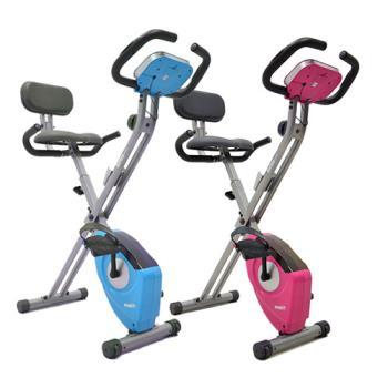 【SAN SPORTS 】飛輪式磁控健身車(超大座椅+舒適椅背)