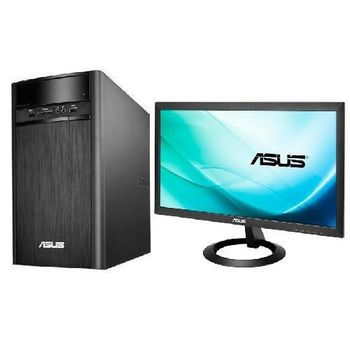 ASUS K31AD i5-4460 AMD獨顯 Win10 PC+VX207DE 19.5吋LCD 組