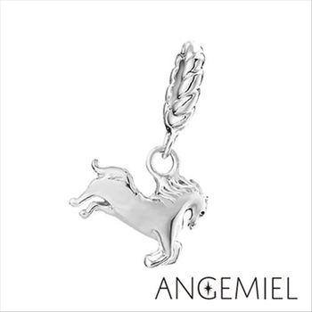 Angemiel安婕米 925純銀珠飾奔馳 吊飾