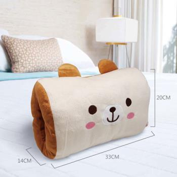 英國熊 暖手抱枕 DL-0018