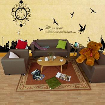 時尚屋 [ZU]小龐帝克鐵腳皮1+2+3沙發組ZU5-1T