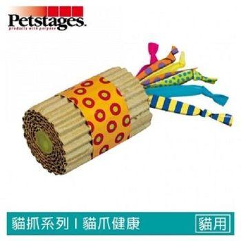Petstages702 貓草紙筒短鞭炮  1入裝