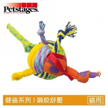 Petstages310 貓草繩結球  1入裝