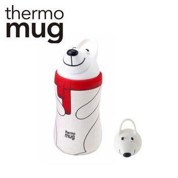 日本品牌 thermo mug 兒童/子供用動物水壺 - 白熊