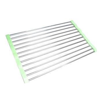 【STAINLESS STEEL】簡單收納多功能防滑瀝水架