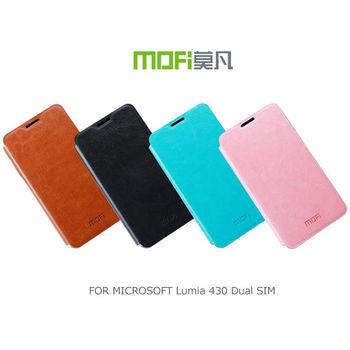 MOFI 莫凡 Microsoft Lumia 430 Dual SIM 睿系列側翻皮套