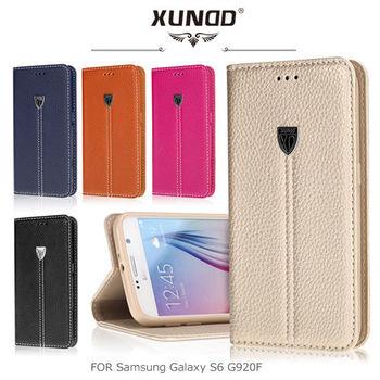 XUNDD 訊迪 Samsung Galaxy S6 G920F 貴族系列可立皮套