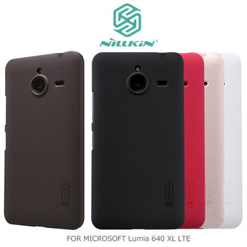 NILLKIN Microsoft Lumia 640 XL LTE 超級護盾保護殼