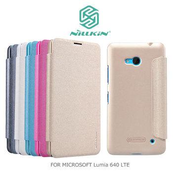 NILLKIN Microsoft Lumia 640 LTE 星音勻皮套