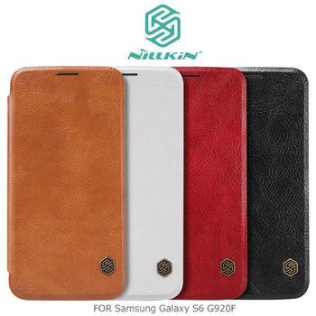 NILLKIN Samsung Galaxy S6 G920F 秦系列側翻皮套