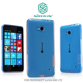 NILLKIN Microsoft Lumia 640 LTE 本色TPU軟套