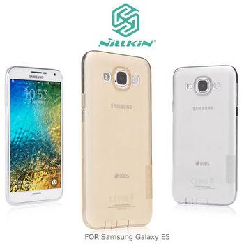 NILLKIN Samsung Galaxy E5 本色系列TPU軟套