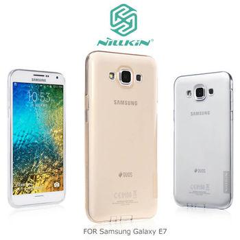 NILLKIN Samsung Galaxy E7 本色系列TPU軟套
