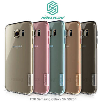 NILLKIN Samsung Galaxy S6 G920F 本色系列TPU軟套