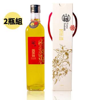 【山椿】特級苦茶油2瓶組 (500ml/瓶)
