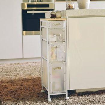 舒適屋 簡約時尚木天板隙縫櫃/收納櫃/置物架