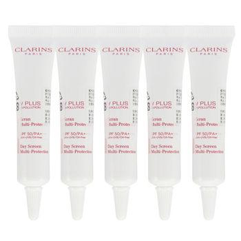 Clarins 輕呼吸全效UV隔離霜-SPF50-PA++++10mlX5
