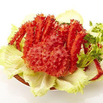 【一等鮮】智利熟凍帝王蟹1隻 (1~1.2kg/隻)