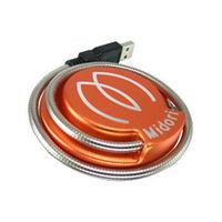 Midori 超亮CREE USB LED廣角蛇管燈 ^#47 桌燈 ^#40 色 ^#4